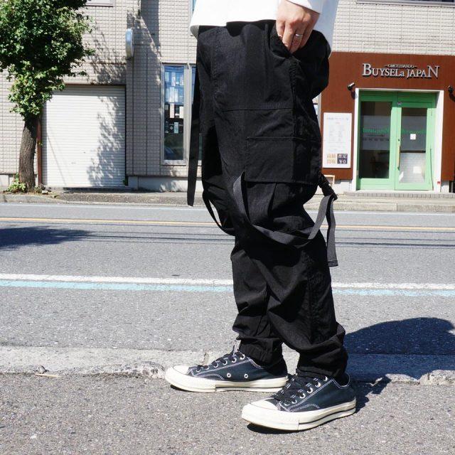 PACSUN パックサン タクティカルパンツ TACTICAL PANTS - BLACK