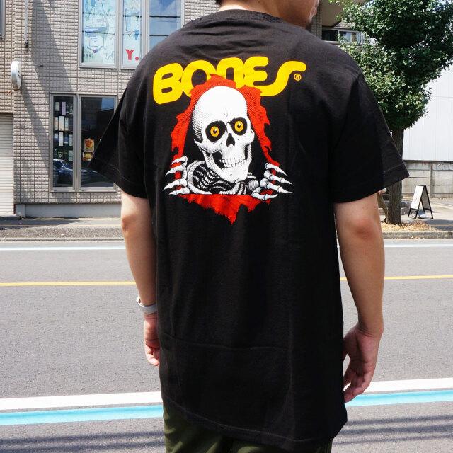 全2色 パウエルペラルタ POWELL PERALTA Tシャツ RIPPER S/S Tee ホワイト ブラック