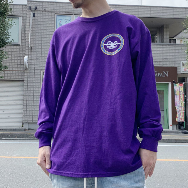 RIP CITY SKATES リップシティスケート ロンT SANTA MONICA AIR LINE L/S Tee - PURPLE