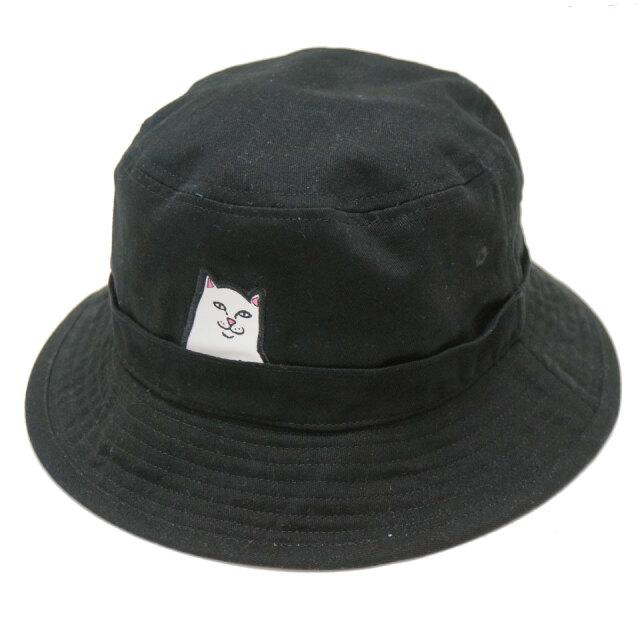 RIPNDIP リップンディップ バケットハット LORD NERMAL BUCKET HAT ブラック