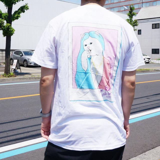 RIPNDIP リップンディップ Tシャツ LOVE LETTER S/S Tee ホワイト 白 WHITE