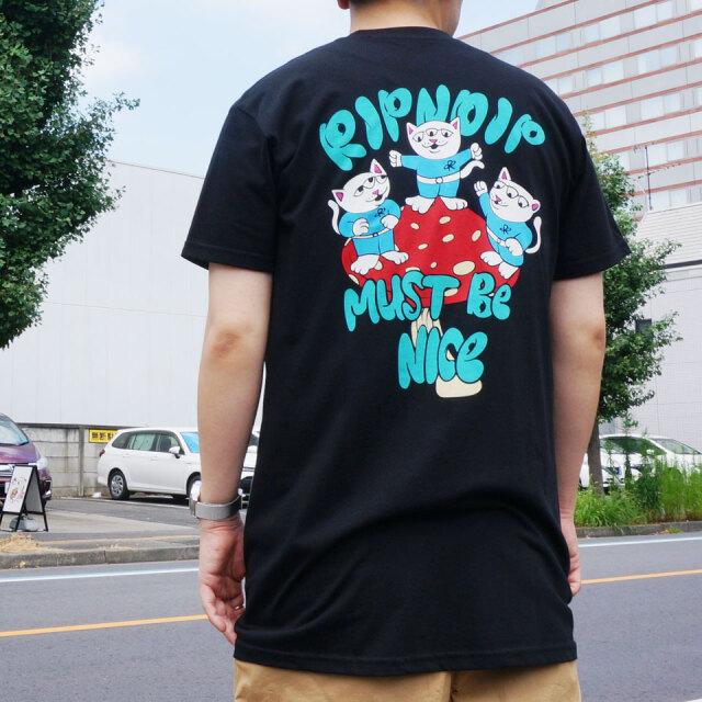 RIPNDIP リップンディップ Tシャツ ALIEN S/S Tee ブラック 黒 BLACK