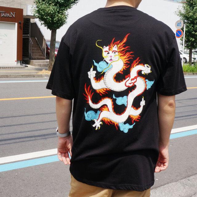 RIPNDIP リップンディップ Tシャツ DRAGONERM S/S Tee ブラック 黒 BLACK