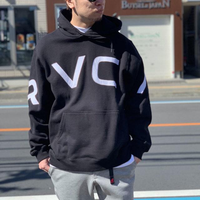 RVCA ルーカ パーカー FAKE RVCA HOODIE A042-014 ブラック 黒 BLACK