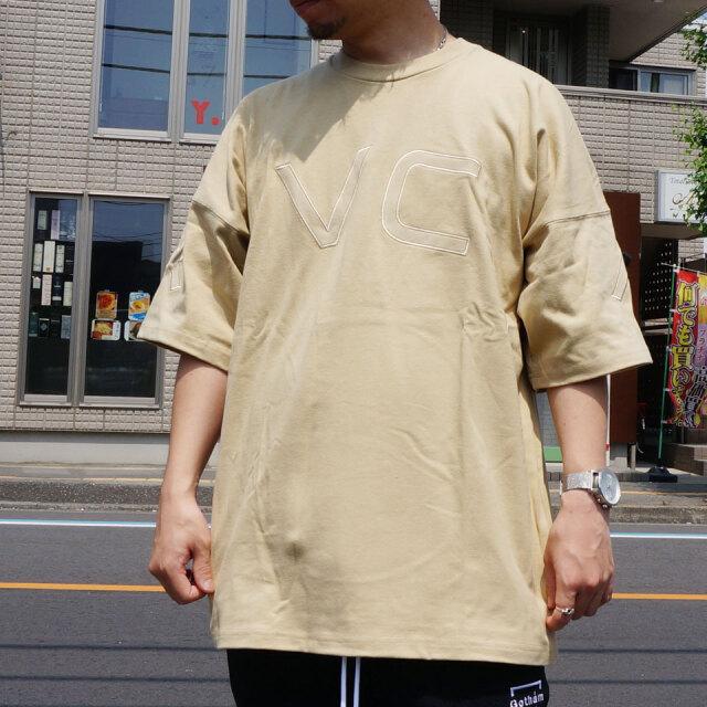 全2色 RVCA ルーカ ビッグシルエットTシャツ FAKE RVCA S/S Tee ホワイト ベージュ BA041254