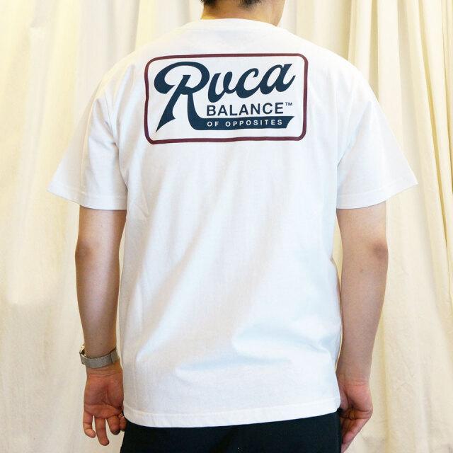 全3色 RVCA ルーカ Tシャツ MUSTANG S/S Tee ホワイト ブラック レッド BA041-215