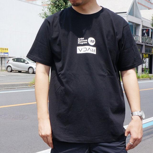 SALE セール 全2色 RVCA ルーカ Tシャツ FLIP RVCA ANP S/S Tee ブラック ワインレッド BA041-252