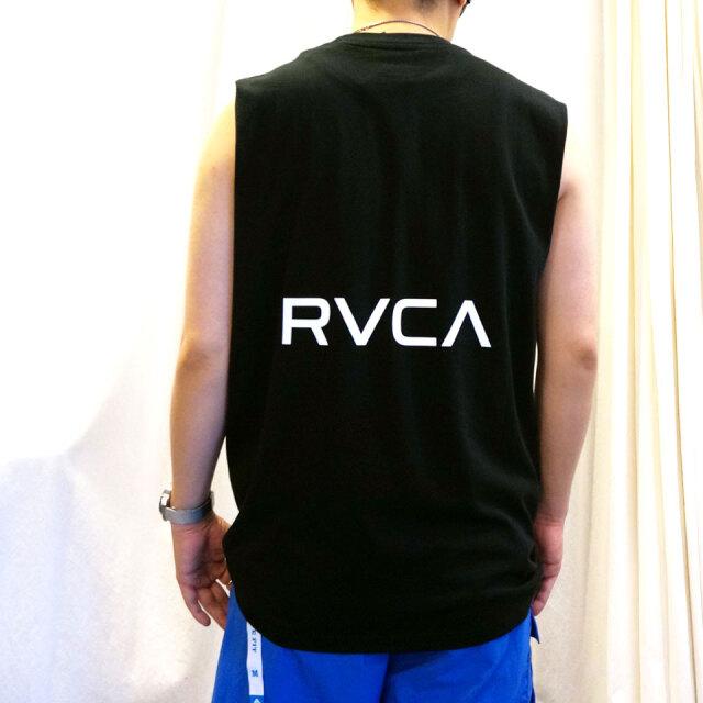 全2色 RVCA ルーカ ノースリーブ タンクトップ BACK RVCA TANK ホワイト ブラック BA041-353
