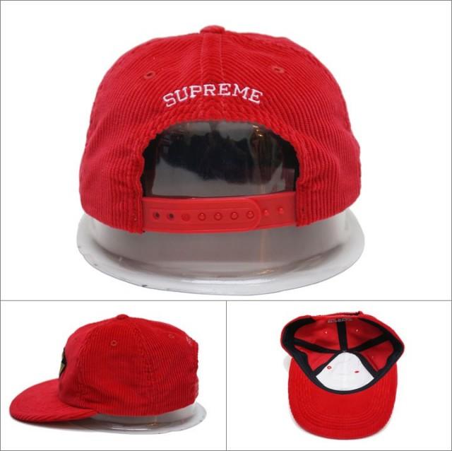 supremeのキャップ