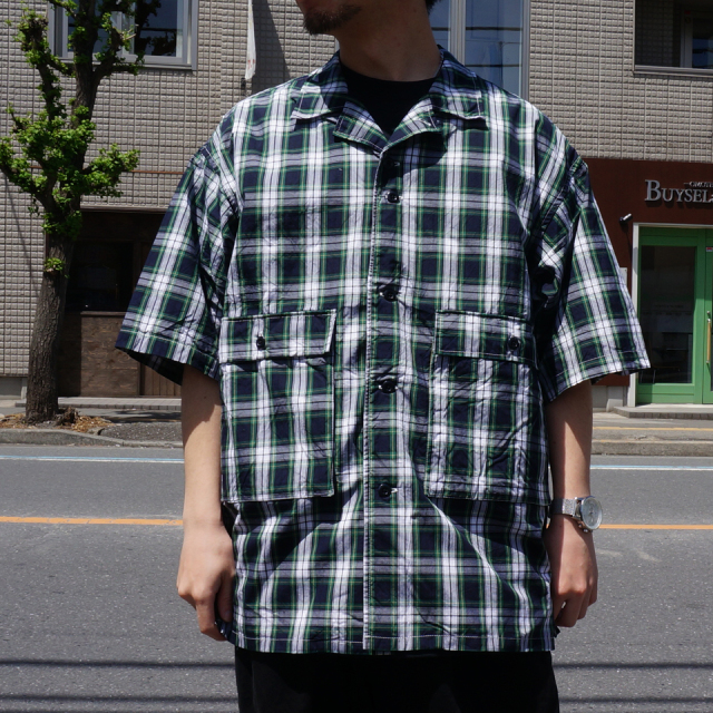 TENBOX 10匣 テンボックス DRUG DEALER SHIRT - PLAID