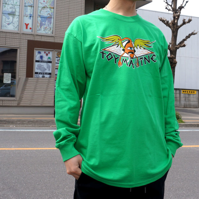 TOY MACHINE トイマシーン SET RIPTOP L/S Tee (TMP19LT23)