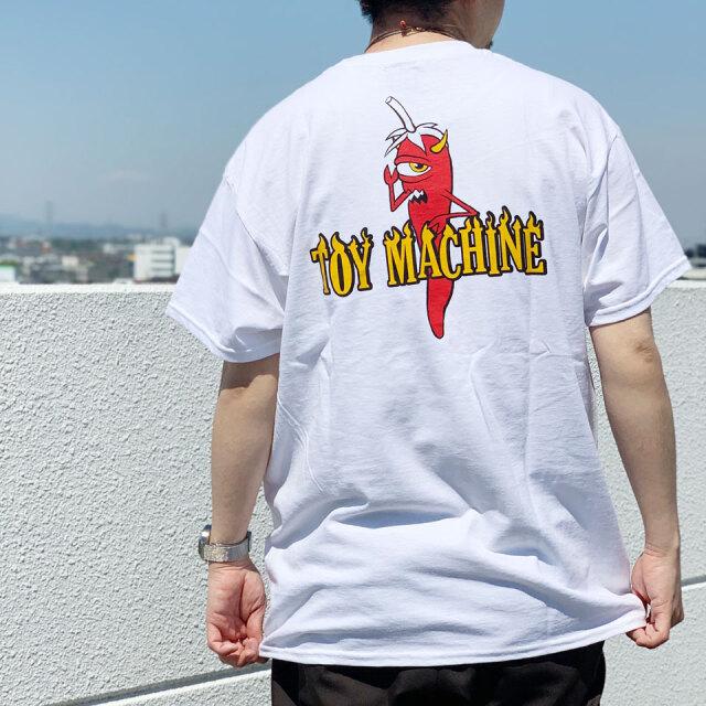 TOY MACHINE トイマシーン Tシャツ PEPPER SECT S/S Tee ホワイト TMSBST6