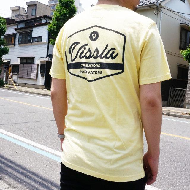 VISSLA ヴィスラ ビスラ Tシャツ UNITED S/S Tee