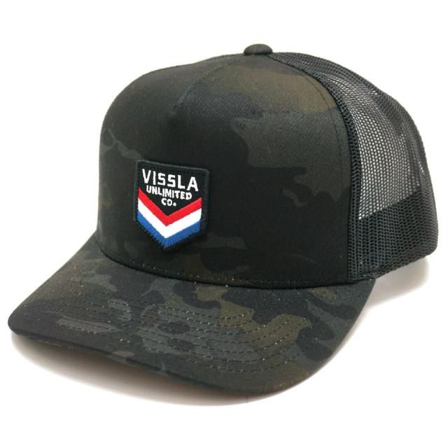 VISSLA ヴィスラ ビスラ メッシュキャップ SOLID SET TRUCKER