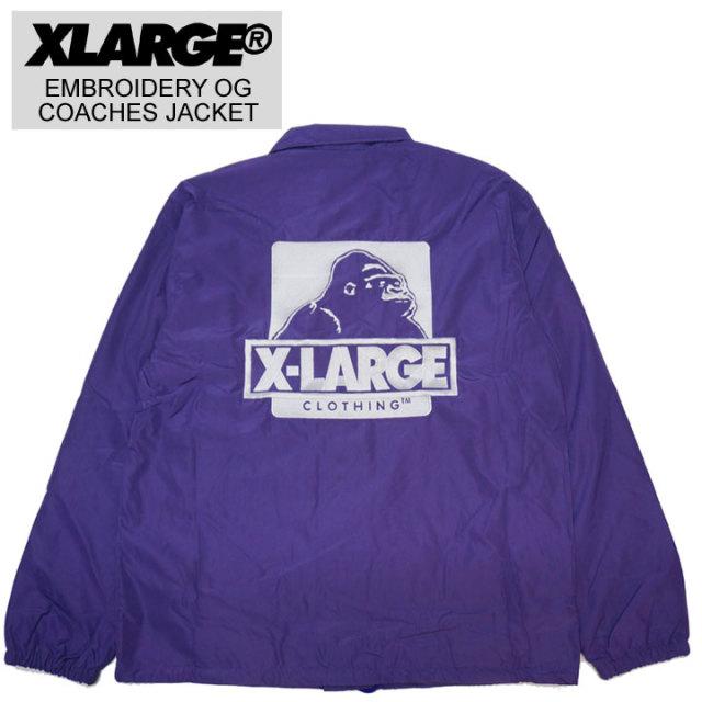 XLARGEのコーチジャケット