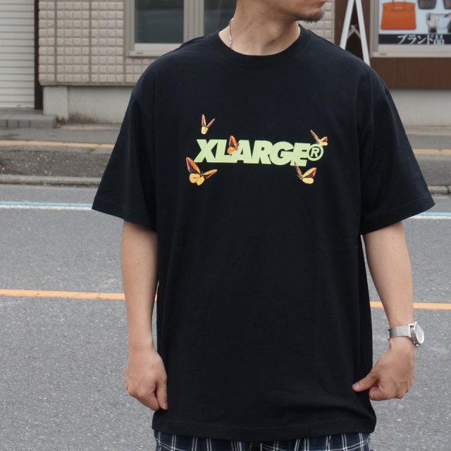 XLARGE エクストララージ Tシャツ FLUTTER STANDARD LOGO Tee 01192117