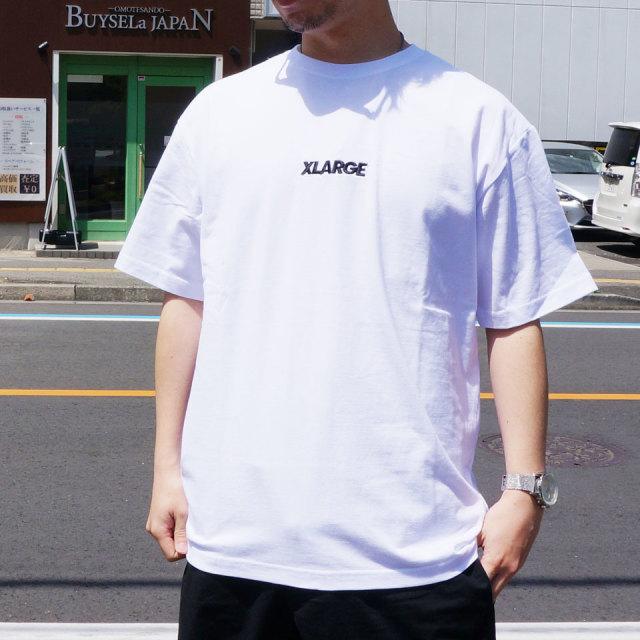 エクストララージ XLARGE Tシャツ STANDARD LOGO S/S Tee 半袖  ホワイト ブラック パープル