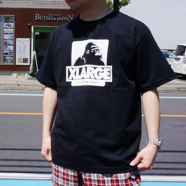エクストララージ XLARGE Tシャツ OG LOGO  S/S Tee 半袖  ホワイト ブラック