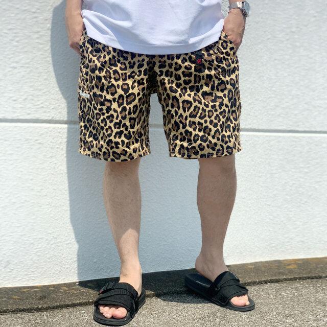 エクストララージ XLARGE × GRAMICCI RESORT SHORT PANTS ショーツ ショートパンツ レオパード ヒョウ柄