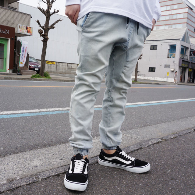 ZANEROBE ゼインローブ SHURE SHORT DENIM JOGGER PANTS