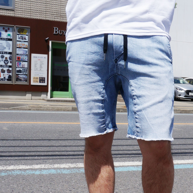 ZANEROBE ゼインローブ SHURE SHORT DENIM SHORT PANTS