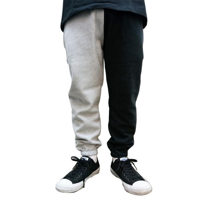 ゼインローブ ZANEROBE ジョガーパンツ SPLICE JUMPA SWEAT JOGGER PANTS グレー/ブラック GREY / BLACK 黒 日本別注 スリムフィット 送料無料