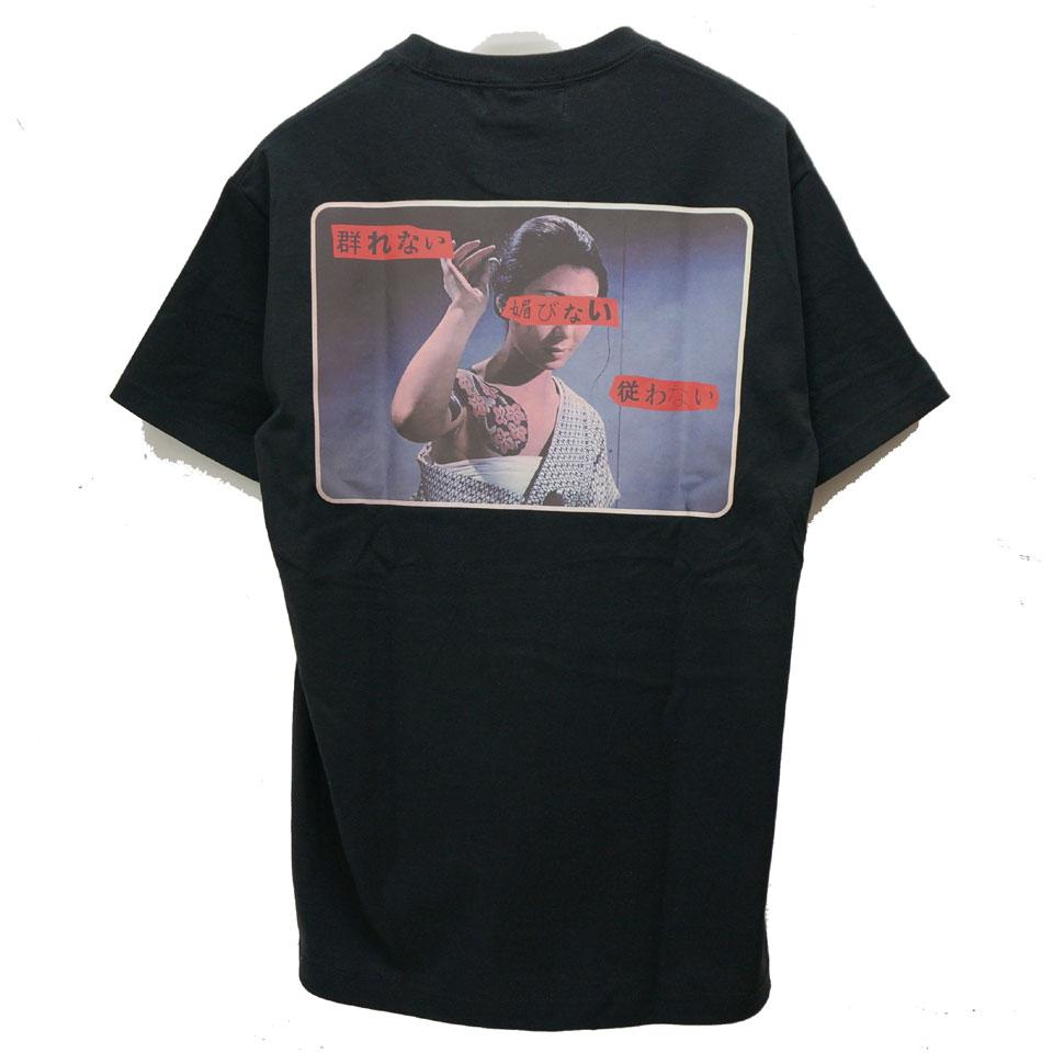 LONELY論理 ロンリー Tシャツ NINKYO ANEGO 2 S/S Tee ブラック
