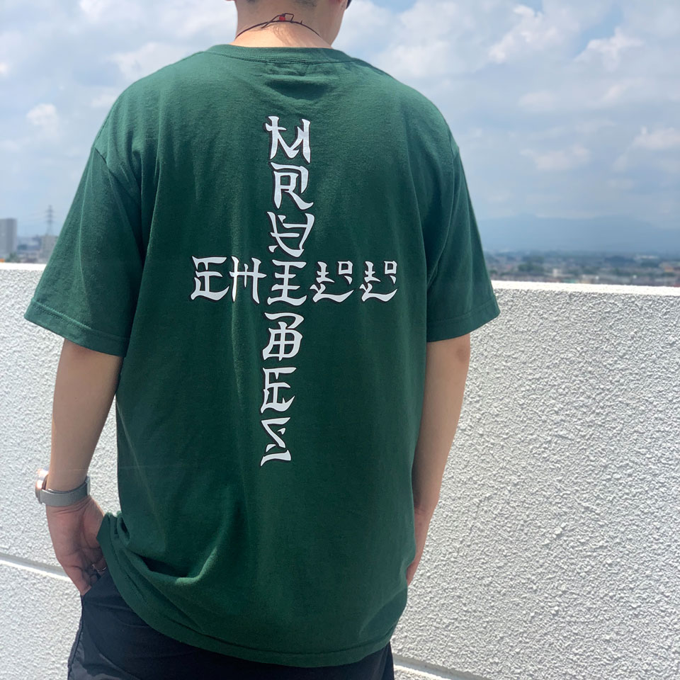 MRV by Mr.vibes Tシャツ ANIMAL CHILL S/S Tee 半袖 オリジナル グリーン