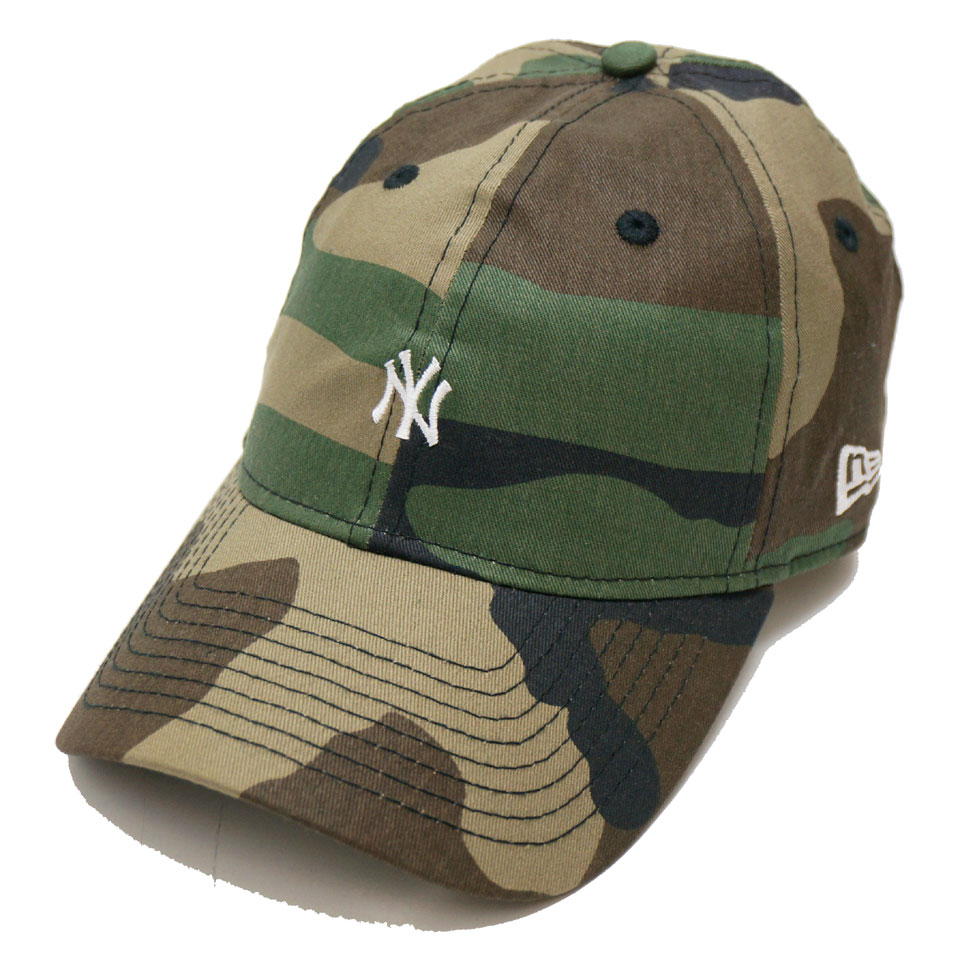 NEW ERA ニューエラ ローキャップ 9THIRTY MINI NY WAXED CAMO CAP カモ 迷彩