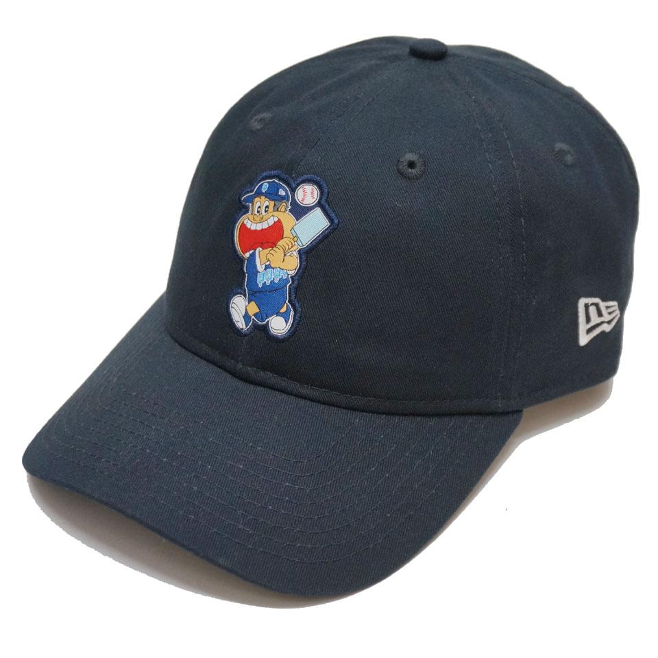 ニューエラ NEW ERA ローキャップ 9THIRTY ガリガリ君 BASEBALL LOGO CAP キャップ 帽子 コラボ  ネイビー