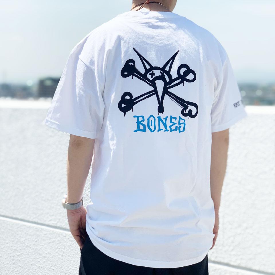 全2色 パウエルペラルタ POWELL PERALTA Tシャツ RAT BONES S/S Tee ホワイト ブラック