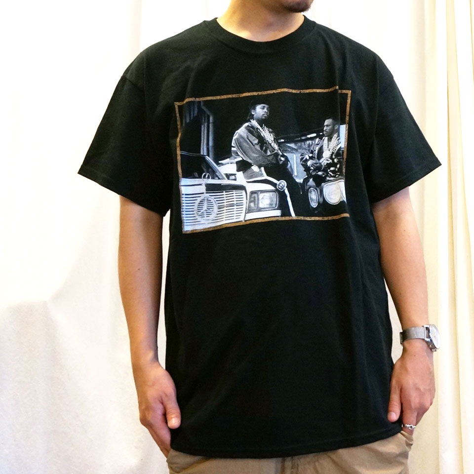 RAP TEES ラップティーズ PAID IN FULL S/S Tee ERIC.B & RAKIM ブラック