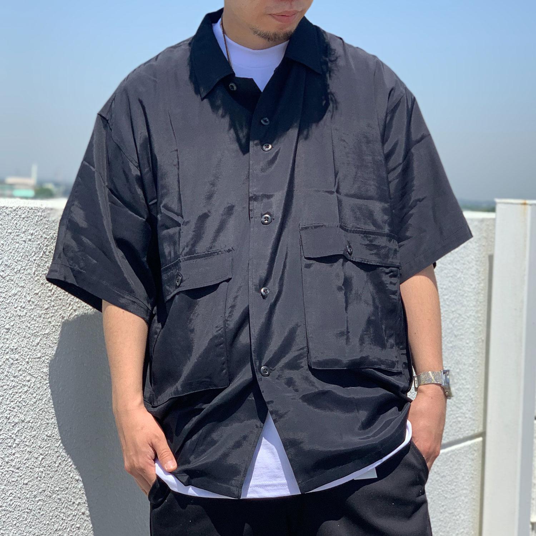 SALE セール TENBOX 10匣 テンボックス 半袖シャツ DRUG DEALER RAYON SHIRT ブラック