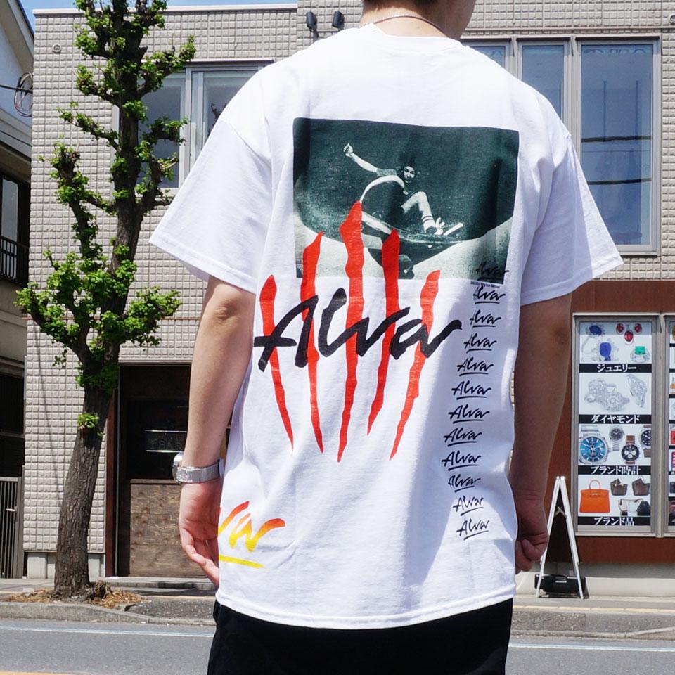 TONY ALVA トニーアルバ ALVA SKATES Tシャツ SCRATCH LOGO S/S Tee