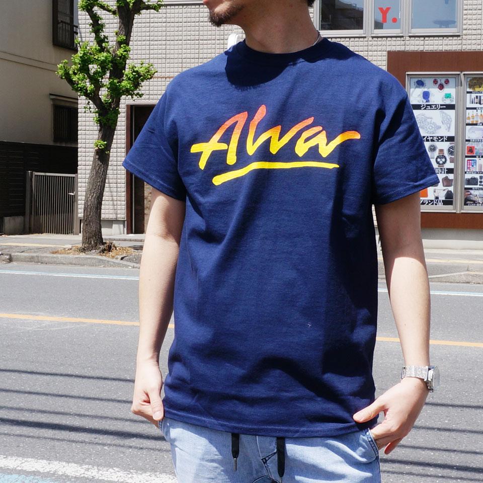 TONY ALVA トニーアルバ ALVA SKATES Tシャツ GRADATION LOGO S/S Tee