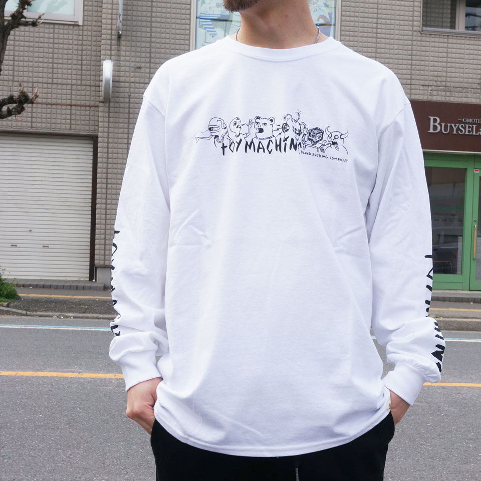 TOY MACHINE トイマシーン THE CREW L/S Tee (TMP19LT24)