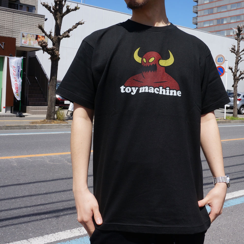 TOY MACHINE トイマシーン TOY MONSTER S/S Tee (TMS19ST10)