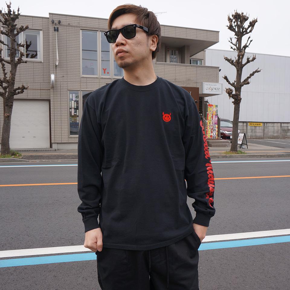 ワールドインダストリーズ WORLD INDUSTRIES ロンT Tシャツ DEVILMAN EMBRO L/S Tee 長袖