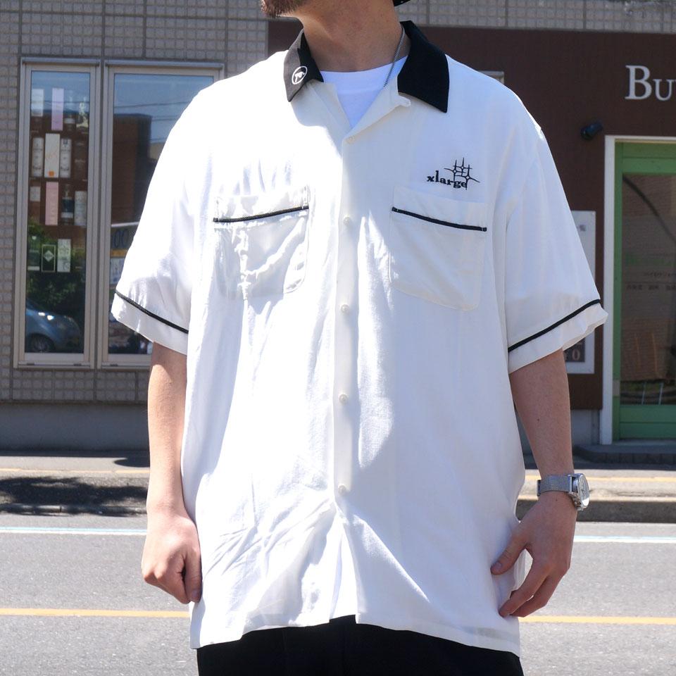 XLARGE エクストララージ ボーリングシャツ S/S BOWLING SHIRT