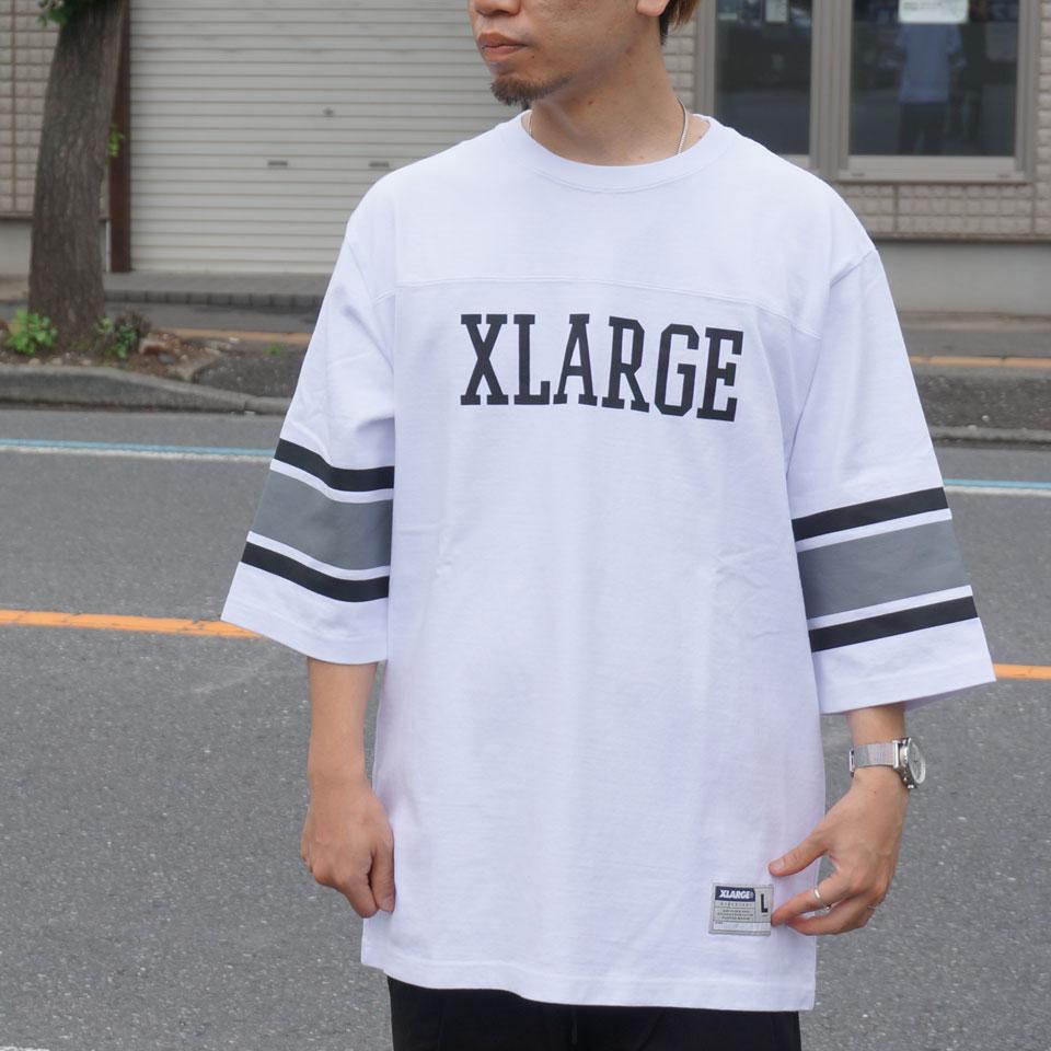 XLARGE エクストララージ Tシャツ FOOTBALL Tee 01192303