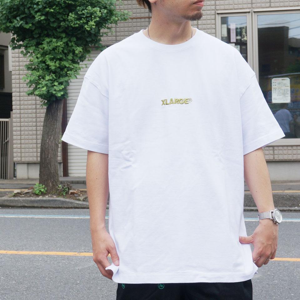 XLARGE エクストララージ Tシャツ EMBROIDERY STANDARD LOGO Tee 01192102