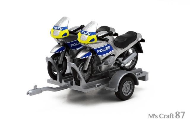 【ヘルパ】BMW バイクトレーラー