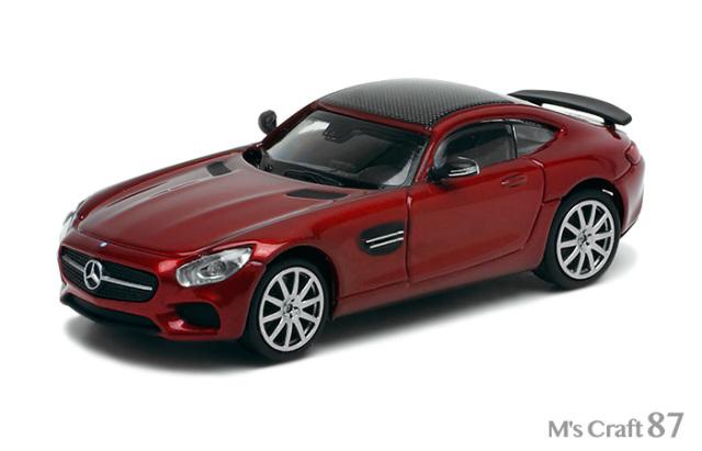 【ミニチャンプス】メルセデスベンツ AMG GTS