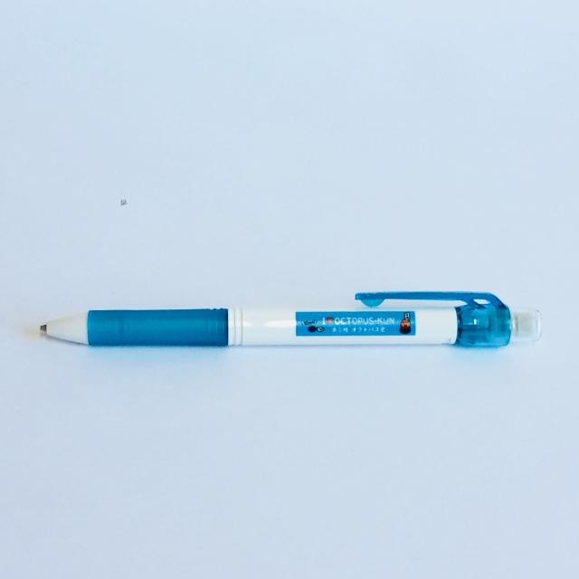 オクトパス君ボールペン【スマートレター専用5本まで】ブルー