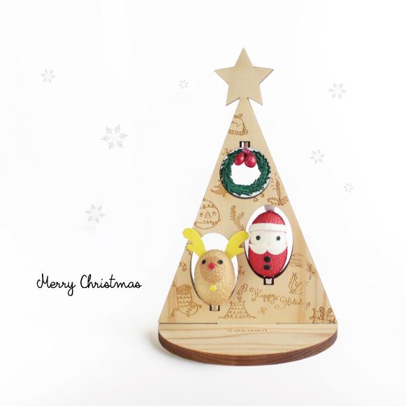 クリスマスツリー&オーナメントマスコット