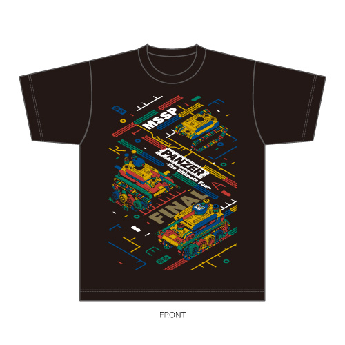 PANZER - The Ultimate Four - FINAL at SAITAMA SUPER ARENA Tシャツ(缶バッジ付)/S