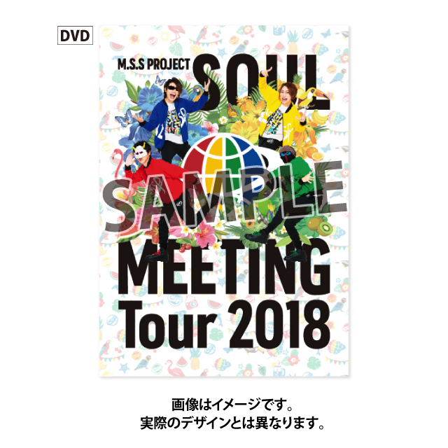 M.S.S Project~Soul Meeting Tour 2018~ DVD [2枚組]【初回限定盤】