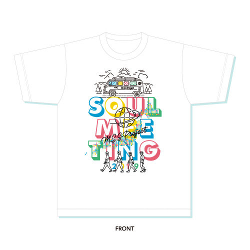 Soul Meeting Tour 2019 Tシャツ(缶バッジ付)/S