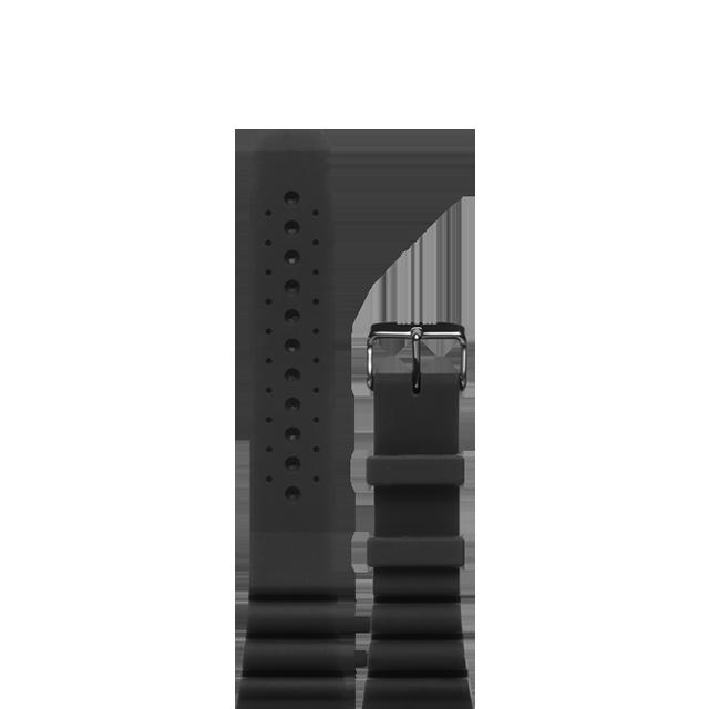 Black Rubber Strap Style 1