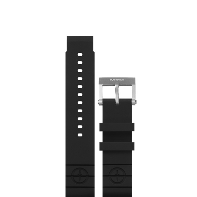 Black Rubber Strap II